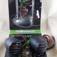 Lampu sen sein model retro harley cafe racer jap style cub jeep grill