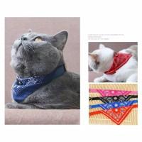 syal bandana adjustable Baju kostum Anjing Kucing Kaos kucing anjing
