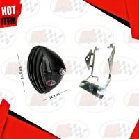 Paket Lampu HD Jap Japsyle Japstyle Grill H4 CB GL100 GL PRO MAX 0183