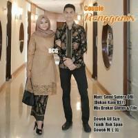 Couple Rengganis Kebaya Batik Baju Couple Rnb Batik Semisutra Original
