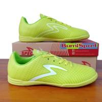 Sepatu Futsal Specs Barricada Guardian In Solar Slime/White Original