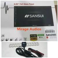 HEADUNIT TV SANSUI SA-5202i FULLPANEL AUTOLINK ANTENA KUPU