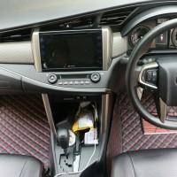 Karpet Mobil Kulit Toyota Innova 7 seat aksesoris / interior Mobil