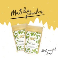 Pure Matcha/ Greentea Powder(green tea bubuk murni) 50gr FUKO