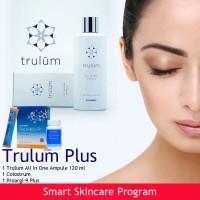Cream Flek Hitam | Trulum Plus 120 ml Paket Serum-Masker-Anti Aging