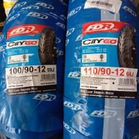 Ban Motor FDR 100/90-12 & 110/90-12 City Go Tubeless Ori Paket