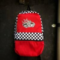 Bagpack vans checkerboard