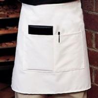 Half body Celemek/apron - Putih (apron pinggang)