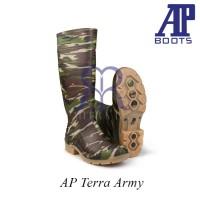 AP Boots Terra Army - Sepatu Boot Kerja Karet Tinggi Panjang
