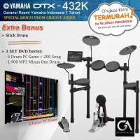 Drum Elektrik Yamaha DTX432 / DTX432K / DTX 432 / 432K
