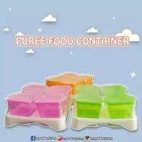 Food container babysafe wadah puree bubur bayi panas dingin