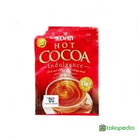 Delfi Hot Cocoa Indulgence Minuman Serbuk Cokelat (isi 10 pcs)