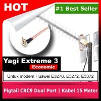 Antena Yagi Penguat Sinyal Modem E3372, E3276, E3272 15 Meter