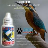 SNOTER Obat Anti Snot Burung 30ml Pilek Bersin Flu