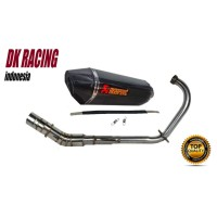 Knalpot Racing Yamaha Scorpio Z Akrapovic Layang fulsystem
