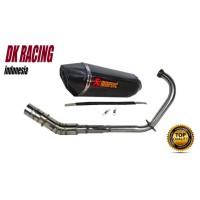 Knalpot Racing Yamaha New Vixion Akrapovic Layang fulsystem