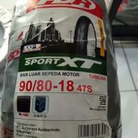Ban Motor FDR 90/80-18 Tubeless Ring 18 Sport XT Original Berkualitas