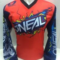 kaos jersey sepeda-baju kaos motor cross dwonhill oneal 861b panjang