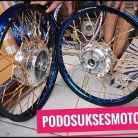 Best Seller Sepaket Velg Tdr 2Twon Ring 17 L 140 160 Buat Supra Fit