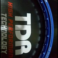 Terbaru Velg Pelek Tdr Racing Blue Ring 17 1Pcs