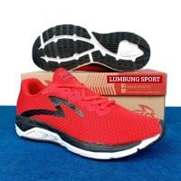 Sepatu Running Specs Dual Enduro True Red 100% Original