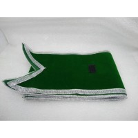 selempang wisuda bludru warna hijau bordir komputer asli berkualitas