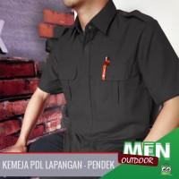 Kemeja PDL Pendek / PDH PDL hitam / Seragam Baju PNS /Baju Lapangan
