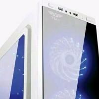 BEST QUALITY CASING PC ARMAGEDON T1G WHITE TANPA PSU