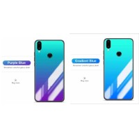 HUAWEI HONOR NOTE 10 GRADIENT SILICONE TEMPERED GLASS CASE