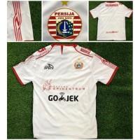 baju jersey persija away putih baru 2018 2019 grade ori Murah