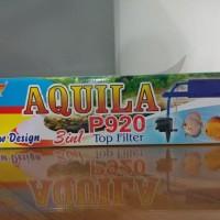 AQUILA P920 3in1 TOP FILTER POMPA AIR CELUP FILTER AQUARIUM