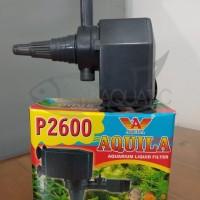 AQUILA P2600 LIQUID FILTER POMPA AIR CELUP FILTER AQUARIUM
