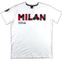 T2174 Kaos Tshirt Baju Combed 30S Distro AC Milan 1899 Grafiti