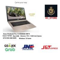 Asus Vivobook Pro 15 N580GD i7 8750 8GB 1TB + 16GB optane GTX1050 4GB