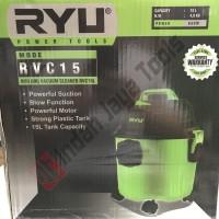 RYU RCV15 Mesin Vacuum Cleaner Sedot Basah Kering Vacum Blower Wet Dry