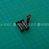 Aksesoris Tas / Keling Koper ukuran 10x20 Agg (Ag Bakar Gosok)