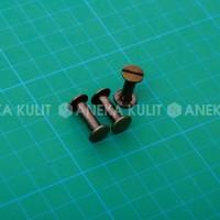Aksesoris Tas / Keling Koper ukuran 10x15 Agg (Ag Bakar Gosok)