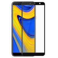 Tempered Glass Full Cover Samsung Galaxy J6+ Plus / Anti Gores Kaca