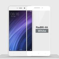 Tempered Glass Full Cover Xiaomi Redmi 4A / Anti Gores Kaca