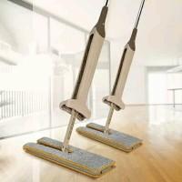 Double Sided Lazy Mop Inovasi baru Alat pel lantai dua sisi kamar room