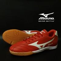 Sepatu Futsal Mizuno Fortuna Merah Putih Import Sport