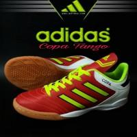 Sepatu Futsal Adidas Copa Tango Merah Hijau Import Sport