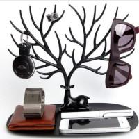Rak Display Organizer Tempat Perhiasan Anting Kalung Cincin - HPR380