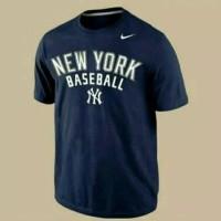 T-shirt/Baju/Kaos Nike Yankees New Work Base Ball