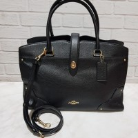 TAS COACH MERCER BAZ 35 BLACK dan MIDNIGHT NAVY ORIGINAL