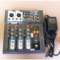 MIXER AUDIO NEWF4 4 CHANNEL TUM USB EFFECT DELAY