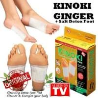 Kinoki Gold Original Kinoki Koyo Kaki Bamboo Gold Detok Foot Patch