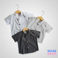 Kicau Kecil Azka Stripe Shirt - kemeja anak laki laki
