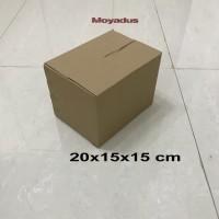 kardus/karton/box uk. 20x15x15 cm untuk packing, MP