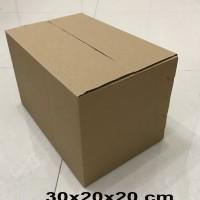 kardus/karton/box uk. 30x20x20 cm untuk packing, MP